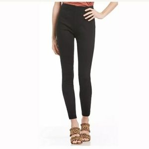 Free People high-waisted pull on skinny Jean